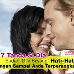 17 Tanda Lelaki Jatuh Cinta Dengan Anda