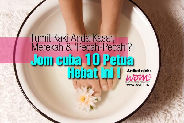 Tumit Kaki Pecah - women online magazine