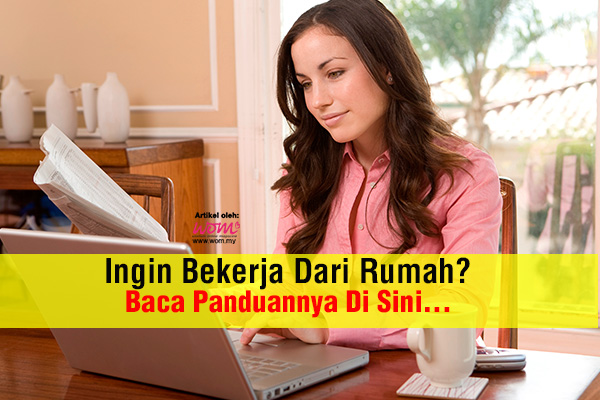 bekerja dari rumah - women online magazine