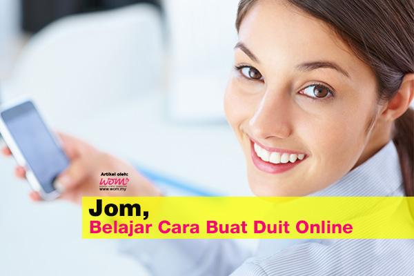 cara buat duit online - women online magazine