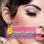 6 Eyeliner Tips Yang Cukup Berguna