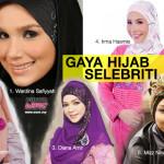 Inginkan Kelainan? Cubalah 5 Gaya Hijab Selebriti Ini