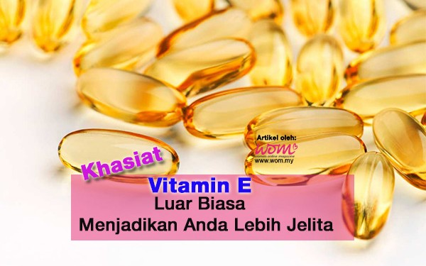 kebaikan vitamin e - women online magazine