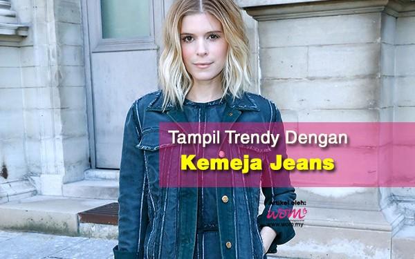 kemeja jeans wanita - women online magazine