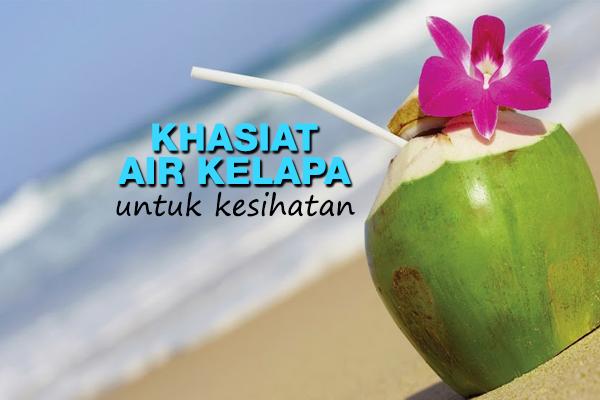 khasiat air kelapa - women online magazine