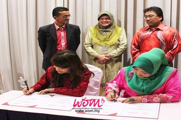 MoU WOM dengan Usahanita-Women Online Magazine