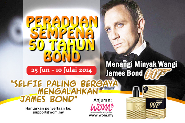 peraduan james bond-2-women-online-magazine