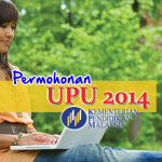 Permohonan UPU 2014