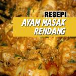 Resepi Ayam Masak Rendang