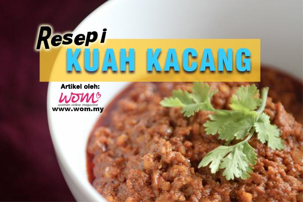 resepi kuah kacang - women online magazine