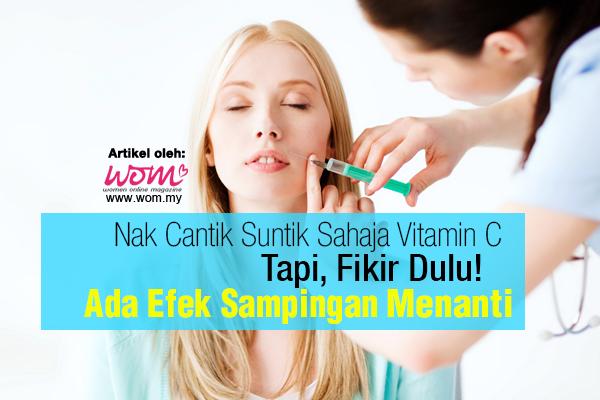suntik vitamin c - WOMEN ONLINE MAGAZINE
