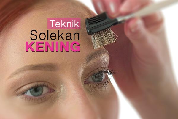 teknik-teknik solekan kening - women online magazine