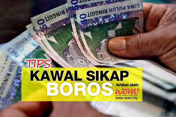 tips kawal sikap boros - women online magazine